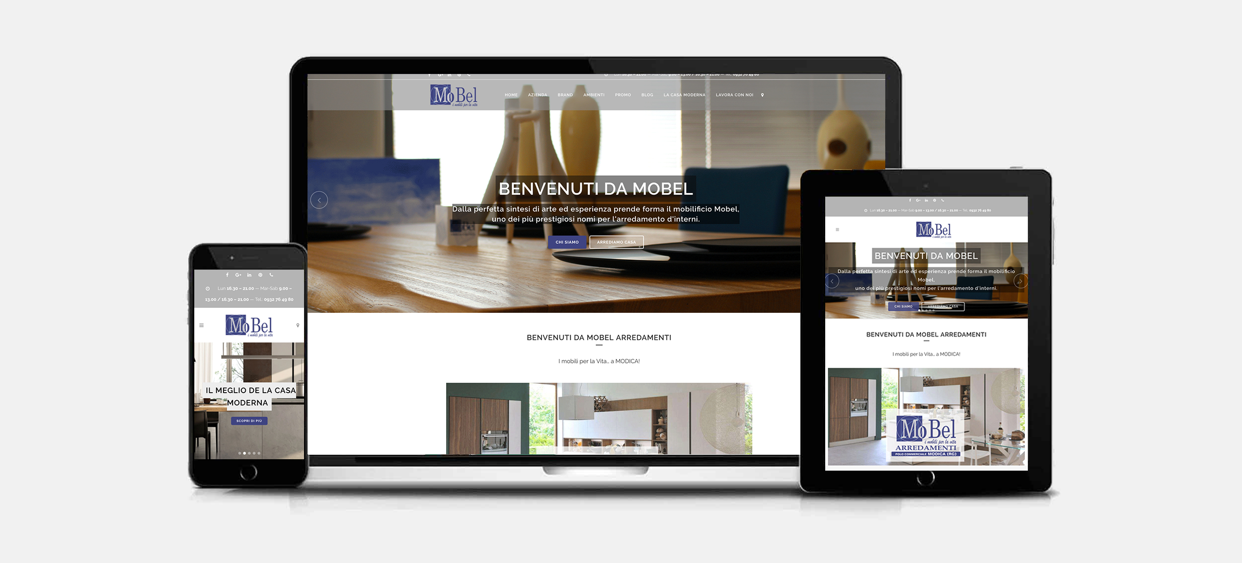 Sito web mobel arredamenti ilab consulting for Mobel design software